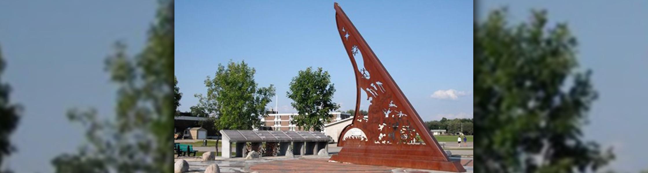 The Sundial in Pinawa, Manitoba